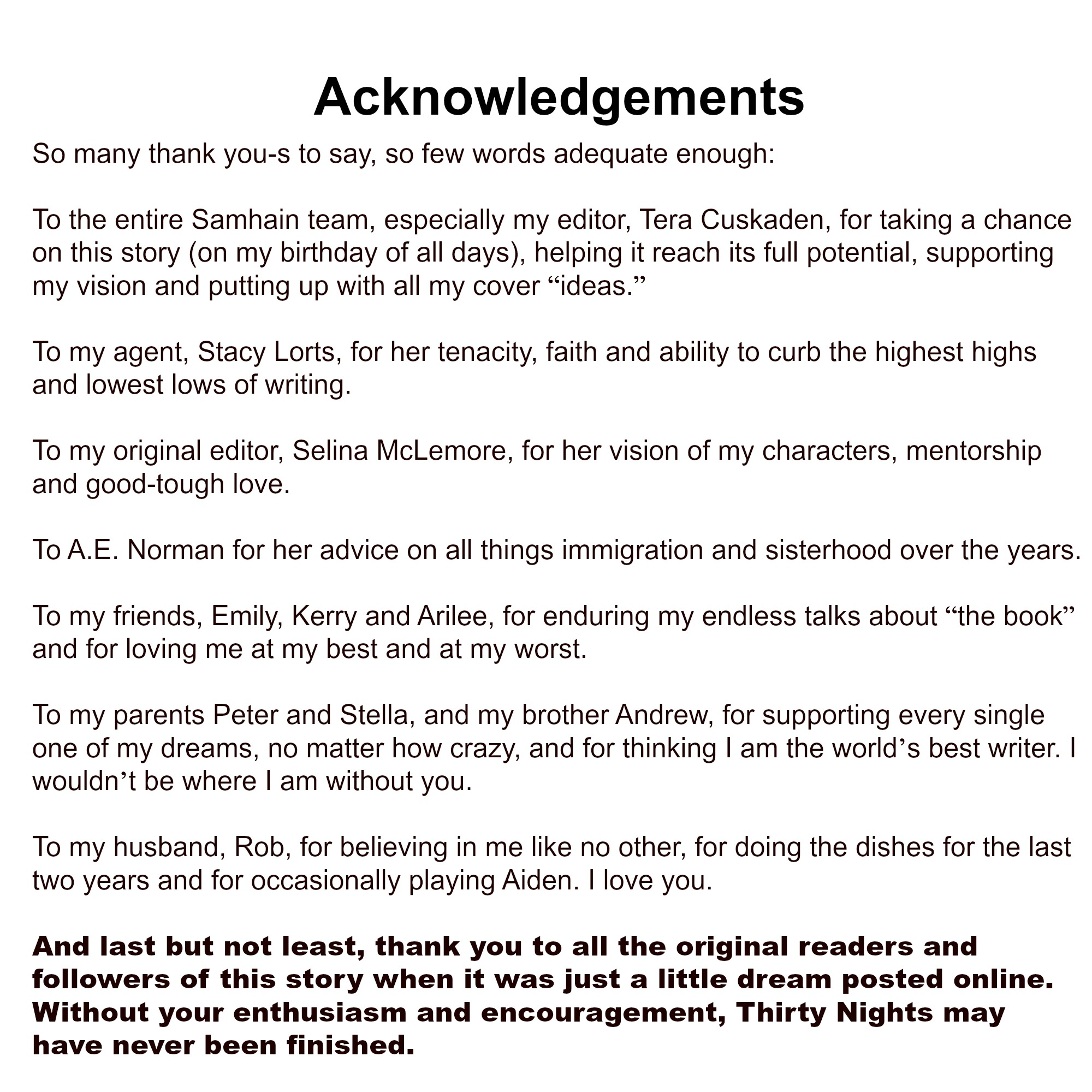 how to put acknowledgement in a paper